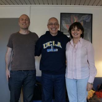 Michael, David og Ela