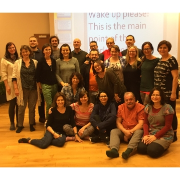 Workshop for uddannede TRE providere med Michael Morin Nissen i Warszawa 2016