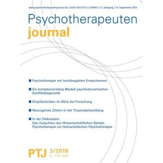 """""""Neurogenes Zittern als neuer Baustein in der Traumabehandlung? Praktische Erfahrungen und theoretische Erläuterungen."""""""